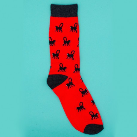 Black Monkey Socks