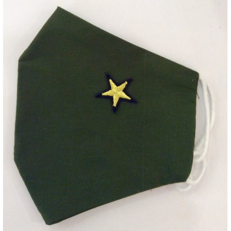 "Mascarilla ""Military Star"""