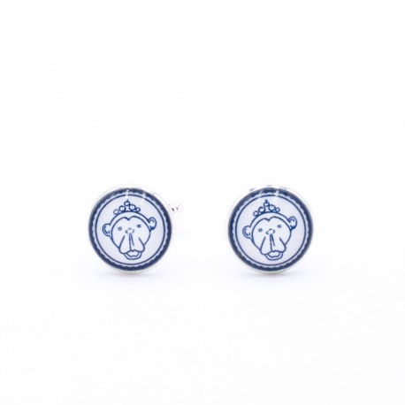 Mona Blue Cufflinks