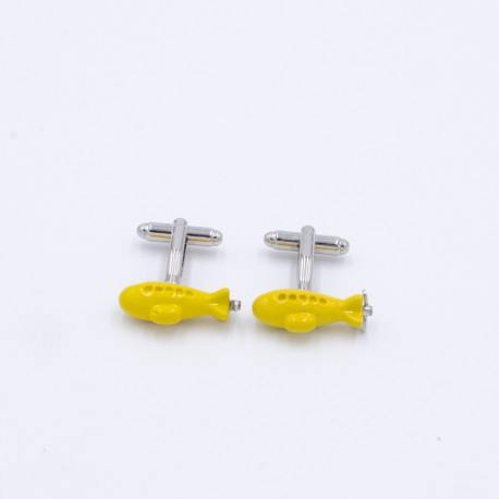 Yellow Submarine Cufflinks